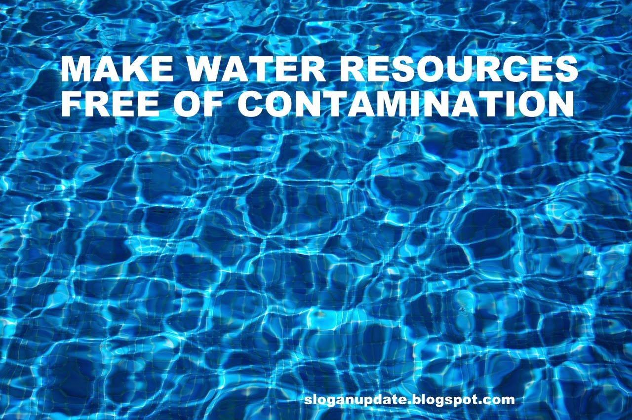 Water Pollution Slogans Sayings
