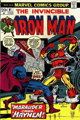 Invincible Iron Man #61, the Masked Marauder
