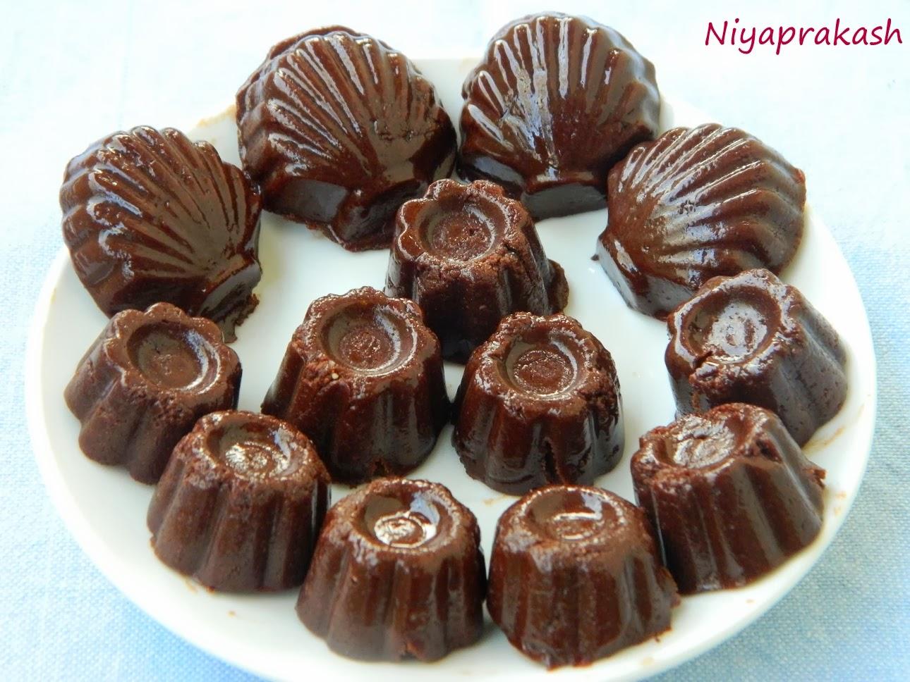 Recipe for homemade chocolates