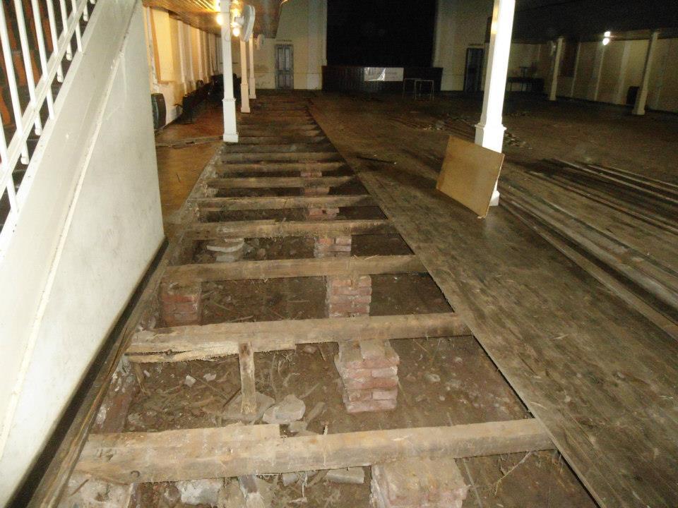Fm libertad 107 5 cambio del piso del complejo cultural - Cambios de casas por pisos ...