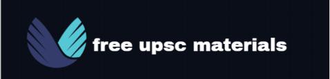 FREE UPSC MATERIALS