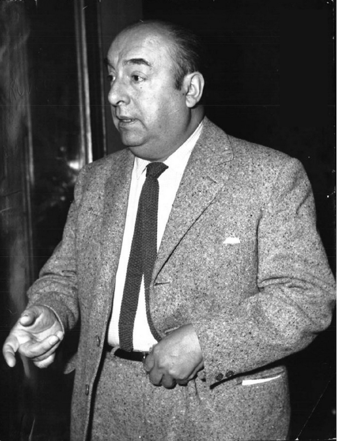 the question by pablo neruda About pablo neruda: chilean poet, writer, diplomat, political activist and exile, nobel prize winner for literature, people's poet, senator, and one of.