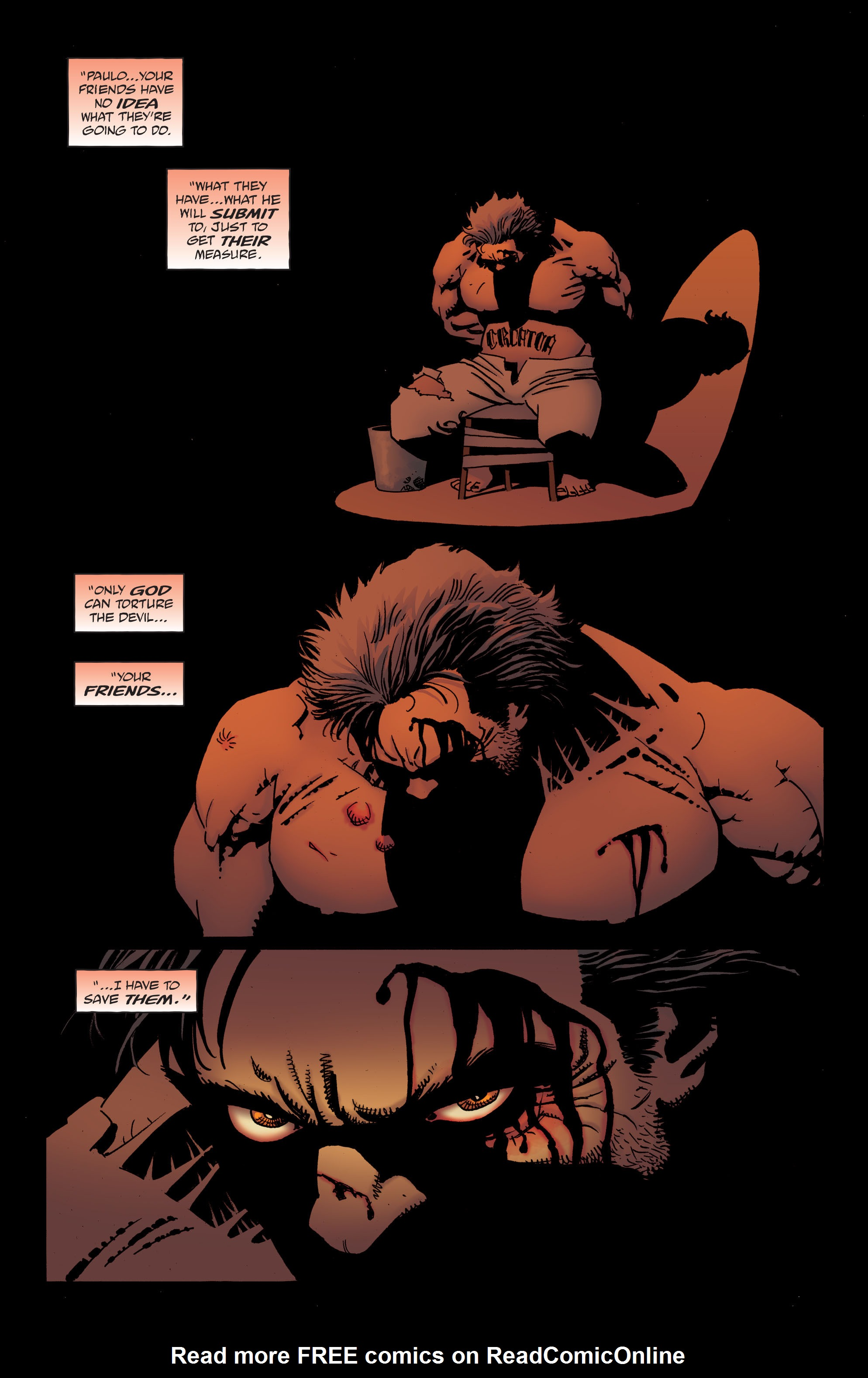 100 Bullets: Brother Lono Full Page 143