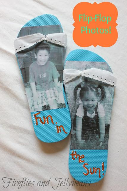 Summer Flip Flop Coloring Pages