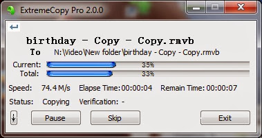 Download ExtremeCopy Pro 2.3.3 Final 32-bit
