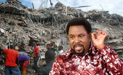 Lagos state govt may prosecute T.B Joshua in regards to the collapsed building in Synagogue.