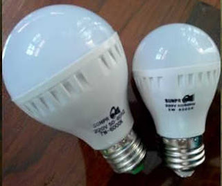 Contoh lampu LED untuk Penerangan
