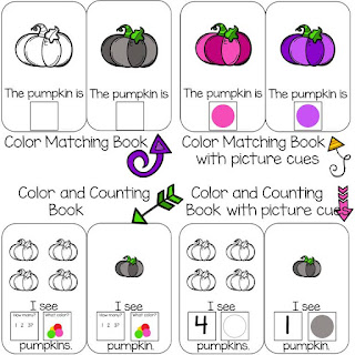 Preschool Pumpkin Books