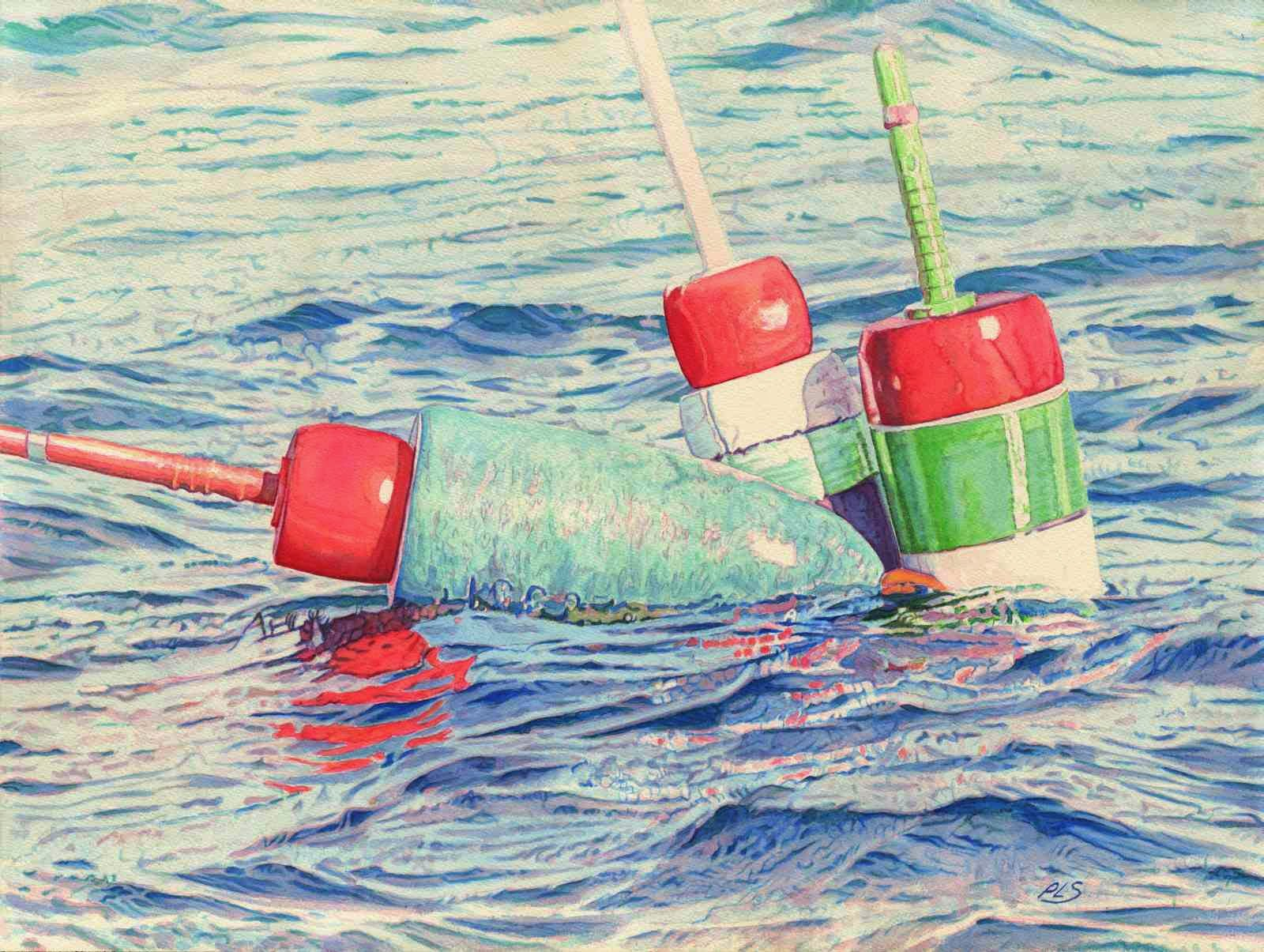 """Buoy Knot IV"" by Paul Sherman"