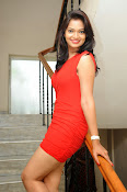 Aswini photo shoot in Red-thumbnail-8