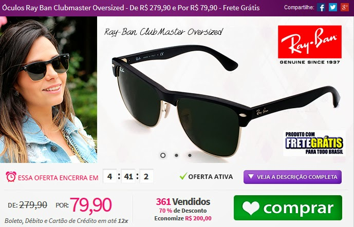 http://www.tpmdeofertas.com.br/Oferta-Oculos-Ray-Ban-Clubmaster-Oversized---De-R-27990-e-Por-R-7990---Frete-Gratis-846.aspx