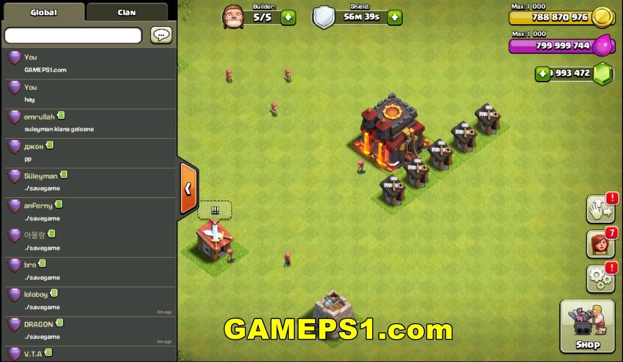 Download Game Clash Of Clans Offline Tanpa Root