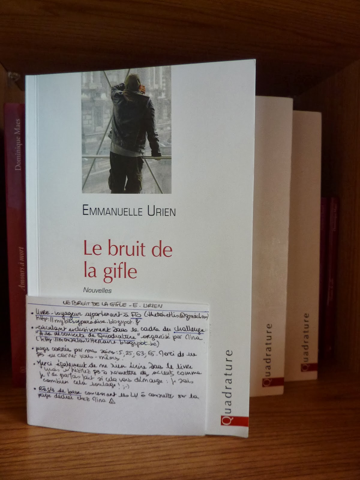 Le bruit de la gifle - Emmanuelle Urien