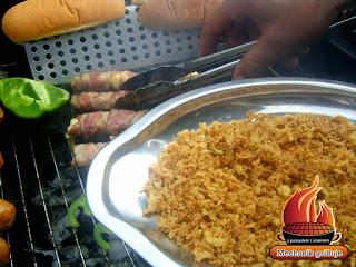 cebula prażona lidl kiełbaska hotdog grillowana kreatywnie diy bbq mechnik pszczyna grilluje