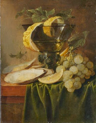 Jan Davidsz. Heem - Still Life with a Glass and Oysters