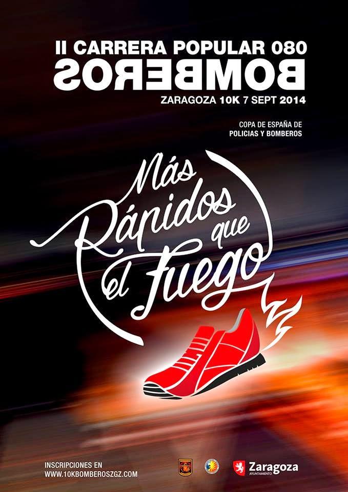 II Carrera popular 080 Bomberos Zaragoza