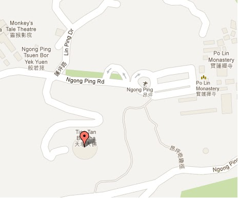 Tian Tan Buddha Location Address, Route Map, Contact Telephone Number ...