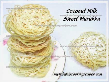 sweet murukku