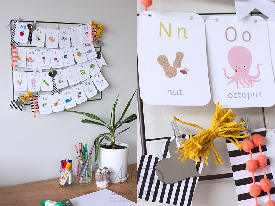 Preschooler Inspiration Board ~ Susan Wong