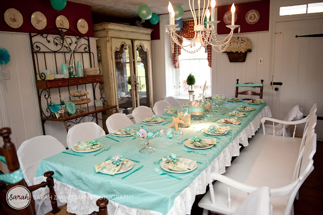 Pretti mini the magical mermaid party for Html table inside th