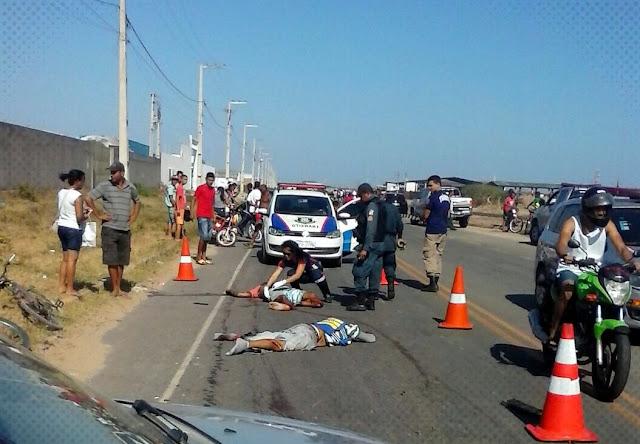Dois mortos em Socorro vítima de acidente envolvendo moto
