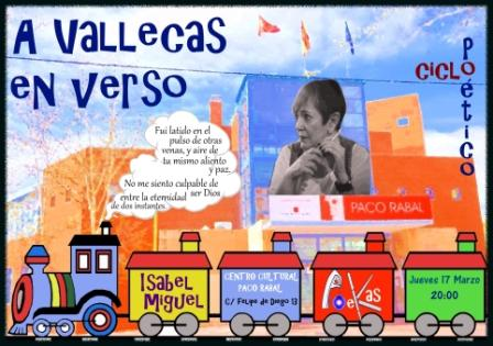 En Verso a Vallecas Isabel Miguel