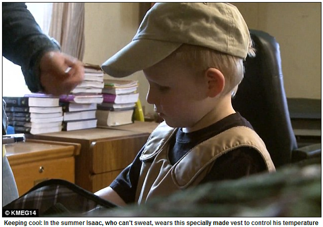 Isaac Brown, the Five-Year-Old Boy Who Feels No Pain