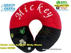 Bantal Leher Karakter Micky Mouse