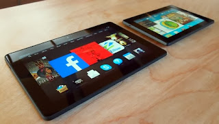 The duo new Kindle Fire HDX (version 8.9 - inch and 7 - inch )