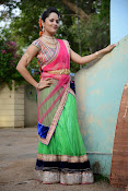 Anasuya photos in half saree-thumbnail-13