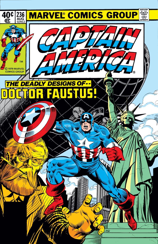 Captain America (1968) Issue #236 #151 - English 1