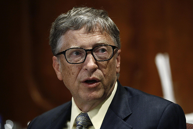 14 Billionaires Who Built Their Fortunes From Scratch - BILL GATES