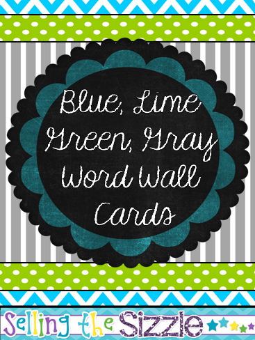 http://www.teacherspayteachers.com/Product/Word-Wall-Cards-Blue-Lime-Green-Gray-Themed-1301958
