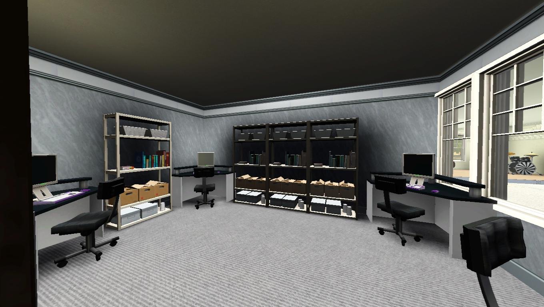 sims 3 school office