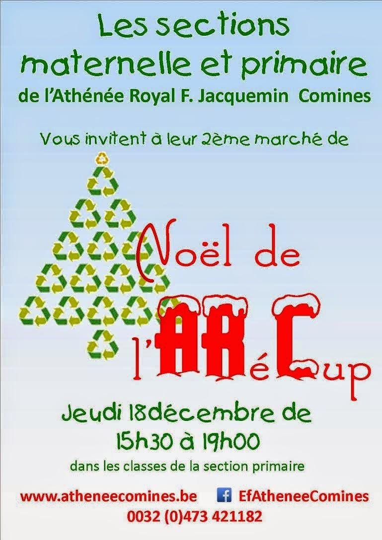 18 décembre Noël à l'Athénée de Comines