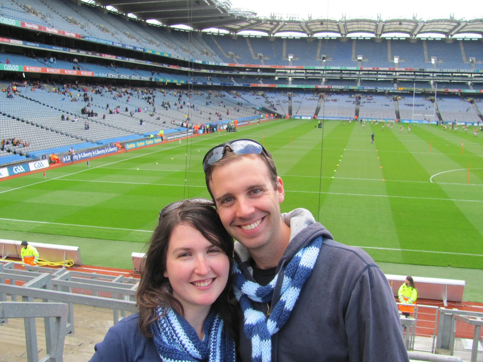 View of the Stadium Croke Park from Hill 16