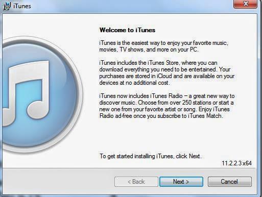Apple iTunes installation