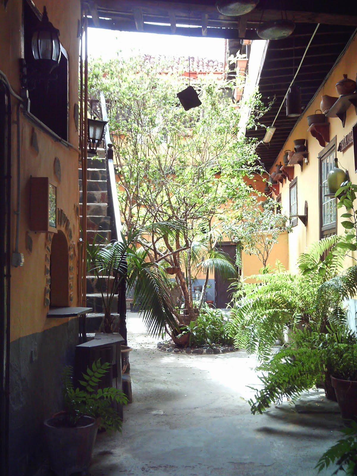 Court Yard in Garachico