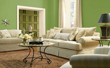 Beautiful Room Colors Glamorous With Green Color Paint Living Room Ideas Picture