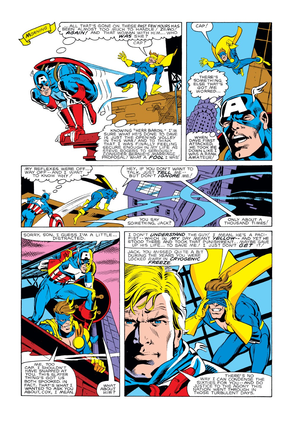 Captain America (1968) Issue #294 #222 - English 19