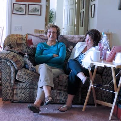Barbara and Kathleen