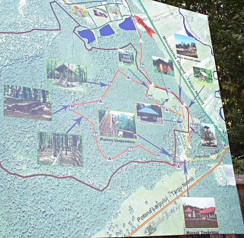 harta parcul natural vanatori neamt