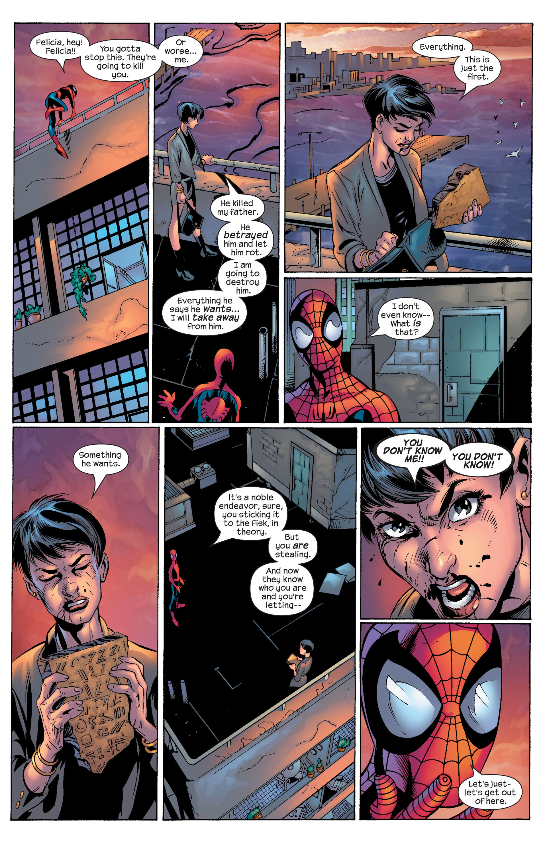 Ultimate Spider-Man (2000) Issue #53 #57 - English 19