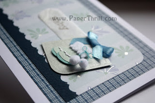 Handmade Newborn Baby boy cards