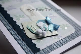 Handmade Newborn Baby boy cards