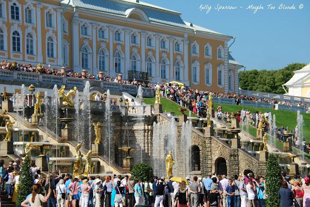 Peterhof palace and gardens