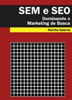 Capa do livro marketing digital SEM e SEO