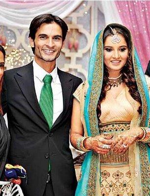 Sania Mirza Wedding Pictures E