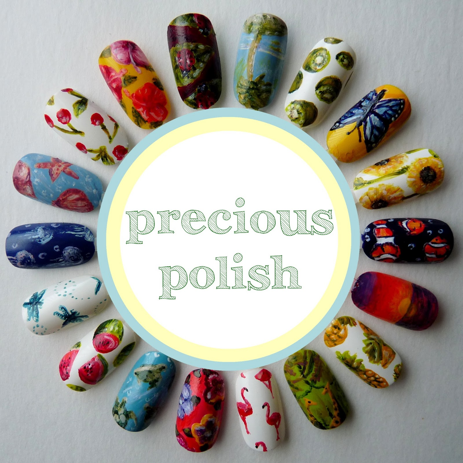 precious polish: 18 Summer Nail Art Designs