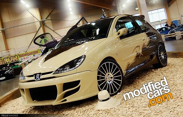 2001 Peugeot 206 GTi  Modified